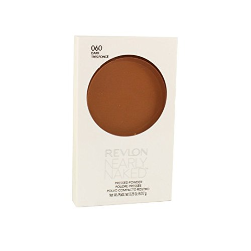 Revlon Nearly Naked Pressed Powder, Dark 060, 0.28 Ounce ()