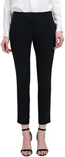 YTUIEKY Capri Pants Women's Outfit - Slim Hip Lifting Elastic Capri Pants for Women Casual Wear