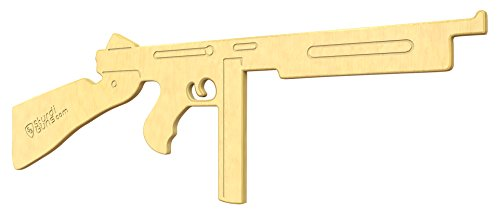 (SturdiGuns Kids Tommy M1928A1 Wooden Toy Gun with Lifetime Guarantee, made in America, Extremely Durable)