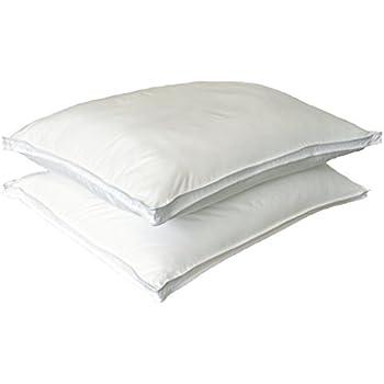 Amazon Com Charisma Jumbo Luxury Down Alternative Pillows