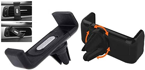 DICHKAU AC Vent Car Mobile Phone Holder with Clip Design for All Smartphone