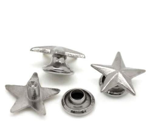 100pcs Cone Spikes Screwback Studs DIY Craft Cool Rivets Punk Stud Coincal 7x10mm 1//43//8 Vintage Bronze