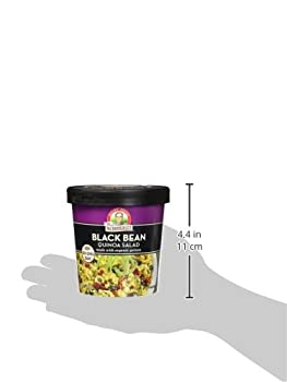 Dr. Mcdougall's Right Foods Lower Sodium Bean Quinoa Salad, Black, 2.6 Ounce (Pack Of 6) 4