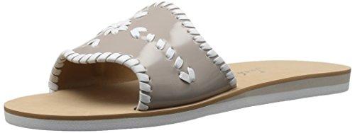 Jack Rogers Women's Sanibel Slide Flat Sandal Dove for sale  Delivered anywhere in USA