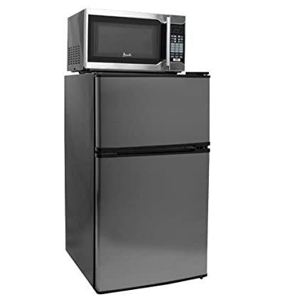 Ft. Compact Refrigerator, Freezer, And Microwave Combo