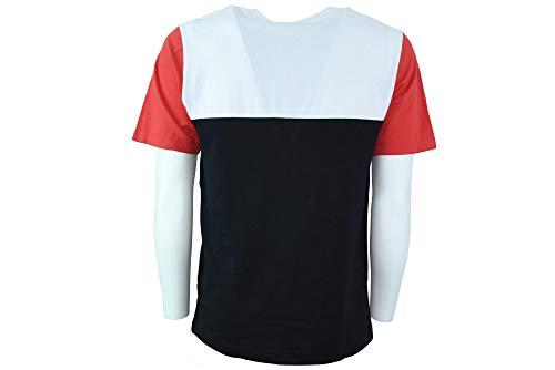 Shirt da 902 corta uomo bianco J30j310458 manica Klein T Nero Calvin gRqdg