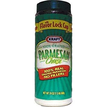 Image of Kraft 100% Grated Parmesan Cheese - 24oz by Kraft [Foods]