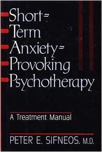 Treatment of generalized anxiety disorder: therapist guides and.