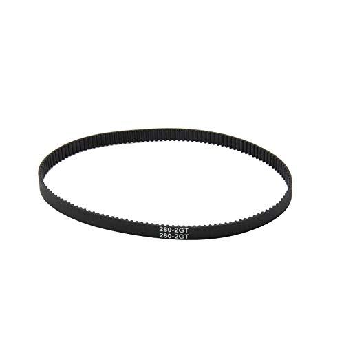 Zamtac HON-Mark 3D Printer Belt Closed Loop Rubber GT2 Timing Belt 200-2GT-6 Length 280mm Width 6mm Durable Printer Belt by GIMAX (Image #3)