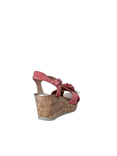 110270 Pink Women Stonefly Wedge 40 Sandals aHda0xq