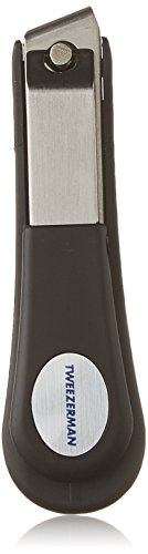 Grip Toenail Clipper (Tweezerman Professional Deluxe Toenail Clipper Grooved To Catch Clippings)