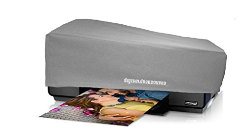 Printer Dust Cover for Epson Stylus Photo R3000 & Surecolor P600 Printers [Antistatic, Water-Resistant, Heavy Duty Fabric, Silver] by DigitalDeckCovers (Photo Cover)