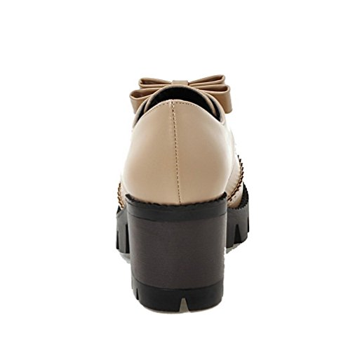 Zipper Boots High Heels Toe WeiPoot Closed Black Women's Pu Round Solid qzx4Hw