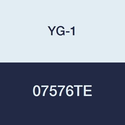 YG-1 07576TE 9//32 Carbide End Mill 2-1//2 Length 4 Flute YG-Tylon E Finish Regular Length