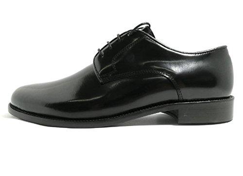 Abrasivato Vero in Bryan 901 Fondo Made Original Shoes Models in Cuoio Nero Cuoio Italy fZf0zx7q