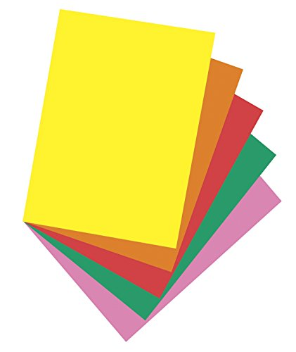 (Pacon Multi-Purpose Paper, 8-1/2 x 11 Inches, Bright Colors, Pack of 500 Sheets)