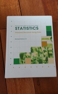 Second Custom Edition for Rio Hondo College Statistics Informed Decisions Using Data