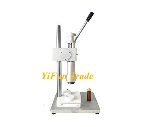 Manual Perfume Crimper Capping Machine Hand Held Bottle Crimping Pump Crimping Tool 20mm Dimensions (rolled 19-21mm diameter) -  YUCHENG TECH, YF-EB484