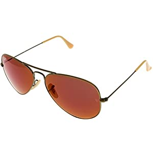 Ray Ban Sunglasses Aviator Gold Womens RB3025 167/2K