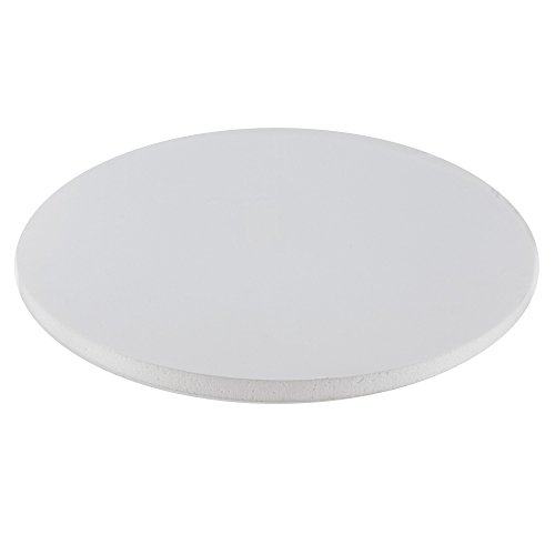 Foam Core Cake Board Round White, 12 x 1/2 Inches by GSA ()