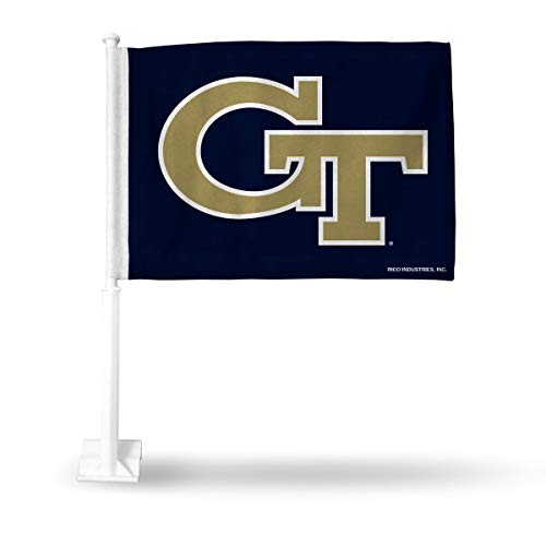 - Rico Industries NCAA Georgia Tech Yellow Jackets Car Flag