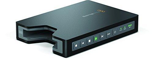"""Blackmagic Design HyperDeck Shuttle 2 SSD Video Recorder, 2.5"""" SATA SSD Drives, HD-SDI Input & Output"""