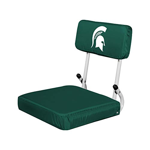 Michigan State Seat Cushion - Logo Brands NCAA Michigan State Spartans Hard Back Stadium Seat