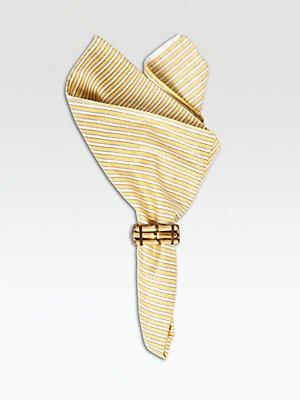 - Juliska Bamboo Napkin Ring Natural