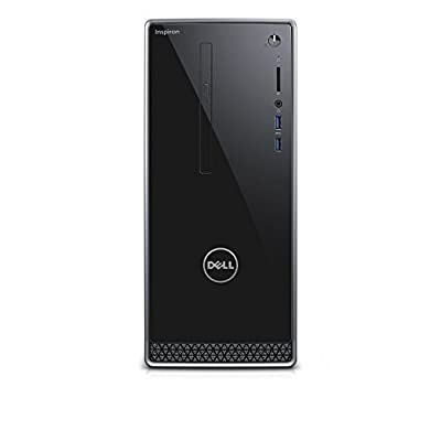 Dell Inspiron i3650 Desktop - 6th Gen Intel Quad Core i5-6400 Processor, 16GB DDR3L Memory, 256GB SSD + 1TB SATA Hard Drive, Nvidia GT 745, DVD Burner, Windows 10