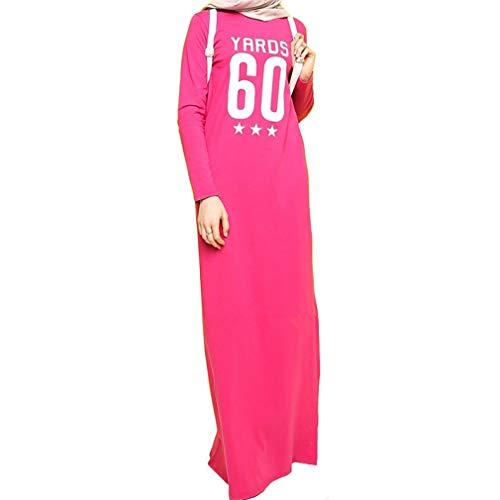 Abaya Grigio TIKEHAN Dress Di Rosa Kaftan Numero Abito Lettera Festival Arabian Moda Rosa Costumi Di E Di Blu Festa Halloween Halloween gqwE7q