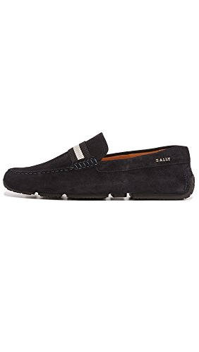 Pearce Suede Men's Drivers BALLY Navy q8T5n
