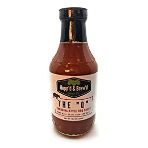 Hopp'd and Brew'd, Beer Infused BBQ Sauce (Pack of 2)