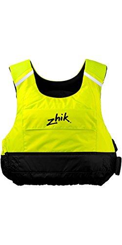 Zhik Racing Cut 50N PFD Kayak Dinghy Sailing PFD Buoyancy Aid for Watersports in Hi-Vis Yellow - Neoprene Shoulder Straps from Zhik