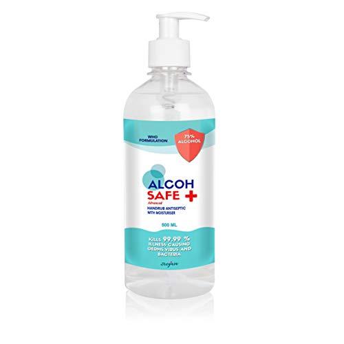 Alcohpure - Alcohsafe Advanced Hand Rub, 75% Alcohol WHO Formulation, FDA Approved 500ml (B088DKRVNN) Amazon Price History, Amazon Price Tracker