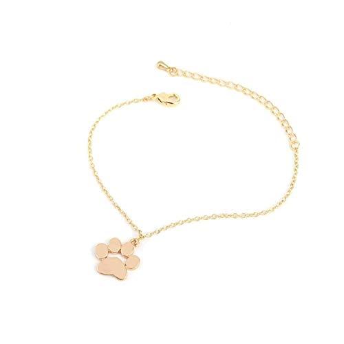 Bracelet Jewelry Tassut Cat Dog Paw Bracelet Lovely Animal Bracelets for Women pulseras ()