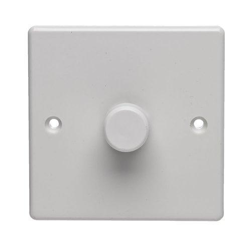 Dencon 400w 1 Way Dimmer Switch, Rotary,