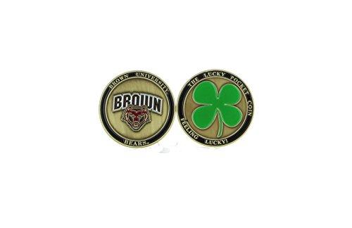Alumni Associtation New! Brown University Bears Ball Marker, Golf, Brat Lucky Pocket Coin