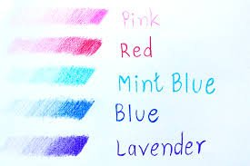 Uni NanoDia Color Mechanical Pencil Leads 0.5mm 7 Color Set, 7 Pack/total 140 Leads by uni (Image #2)
