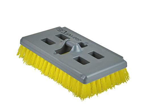 FlexSweep Swivel Scrub Brush with No-Flip Technology and Non-Abrasive ()