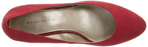 Bandolino Womens Franci Wedge Pompe Rouge