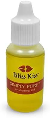 Bliss Kiss Simply Pure Cuticle & Nail Oil   0.5oz   Dropper CRISP