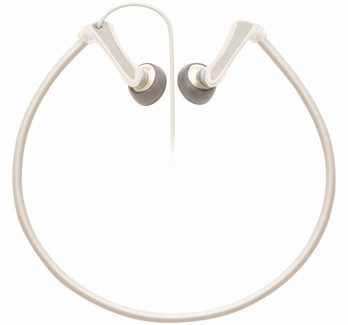 TDK LoR Sports Earbuds Neck Band Type, White, - Tdk Sport