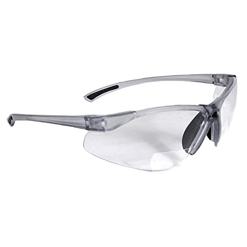 Radians C2-115 Bi-Focal Reading Safety Glasses with Clear 1.5 Lens (1 - Bifocal Reading Glasses Safety