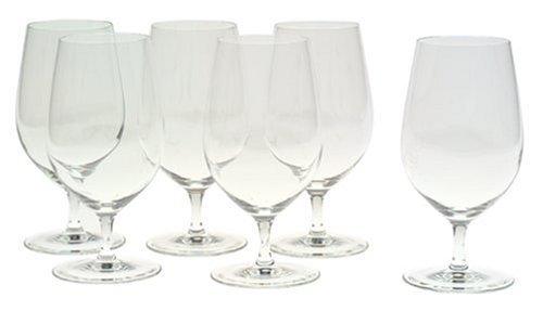 Riedel Vinum Water Set (Riedel Vinum Gourmet Crystal Soft Drink/Water Glass, Set of 6 by Riedel)