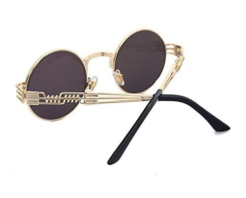 para al viajar Hombres ligero de Deportes Gafas sol Golden de sol de pesca de hombres UV400 la Gafas conducción los de Moda para protectoras Mujeres aire libre marco AwnvFqH4xw