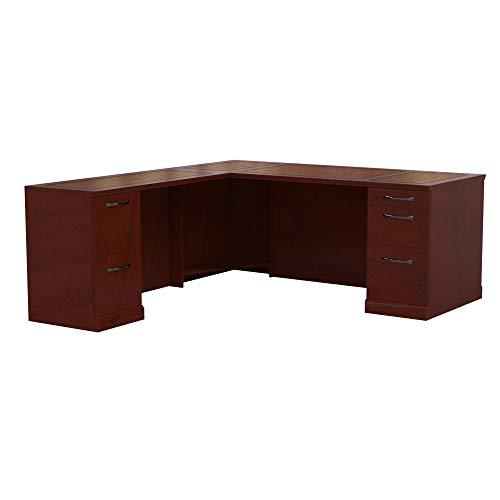 Pedestal Bourbon Cherry Desks - Mayline SLLSBF72SCR Sorrento 72