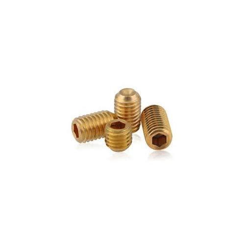 FT 5//16-18 x 5//8 Coarse Thread Square Head Set Screw Cup Point Through Hardened Alloy Steel Plain Finish Pk 100