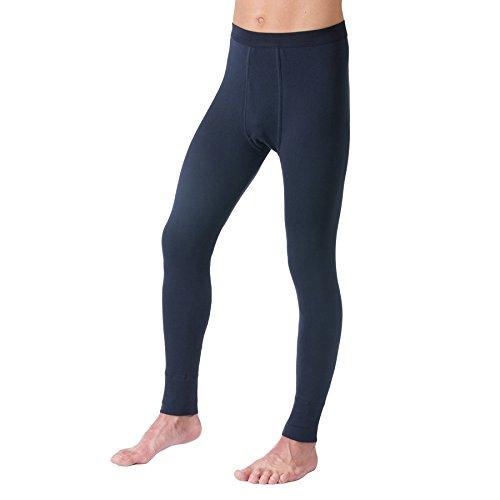 HERMKO 3540 Herren lange Unterhosen mit Eingriff 3er Pack (Weitere Farben)