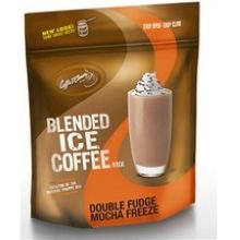 Caffe D Amore Double Fudge Mocha Freeze Blended Ice Coffee Mix, 3 Pound -- 5 per case.
