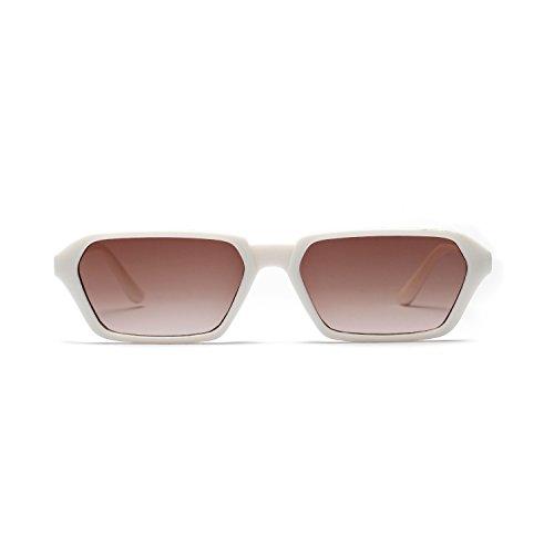 UV400 Sunglasses al Sol Vintage Polarizado Portección Clásico Redondo de polarizadas Unisex Libre Gafas inspirado metálico Aire wqSBYxg0